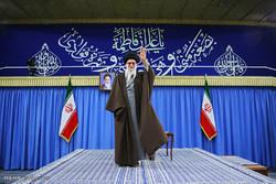 Panegyrists meet with Ayat. Khamenei
