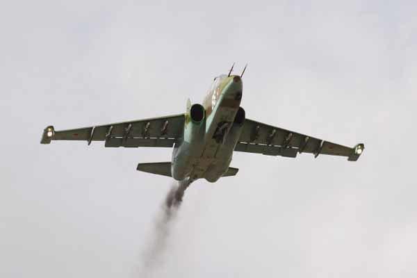 یک فروند جنگنده روسیه سقوط کرد