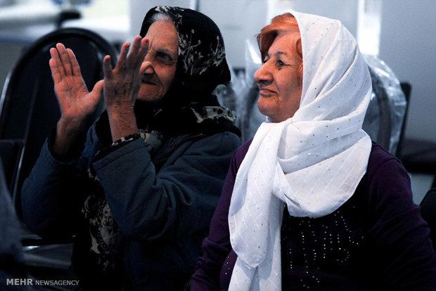 مراسم روز مادر در آسایشگاه سالمندان کهریزک البرز