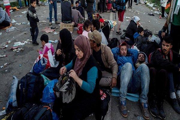 اصابة ثمانية أشخاص في اشتباكات بين لاجئين سوريين وآخرين أفغان في اليونان