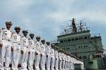 """الأسطول البحري الإيراني يرسو في ميناء """"مخاج قلعة"""" الروسي"""