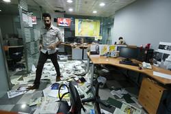 اقتحام مكتب صحيفة الشرق الأوسط السعودية في بيروت
