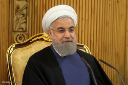 Pres. Rouhani urges Europeans to condemn US unilateralism