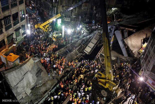 حادثه ریزش پل در هند
