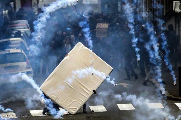 اعتراض به اصلاح قانون کار در فرانسه