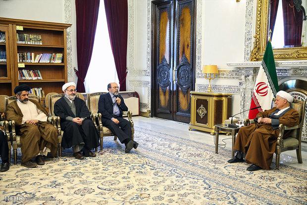 دیدارهای نوروزی رئیس مجمع تشخیص مصلحت نظام
