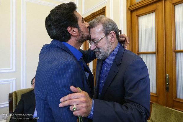 دیدارهای نوروزی رئیس مجلس