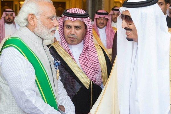 سعودی عرب نے نریندر مودی کو سب سے بڑا سول ایوارڈ عطا کردیا