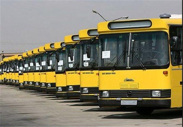 ۸۰ اتوبوس در ورامین فعال است