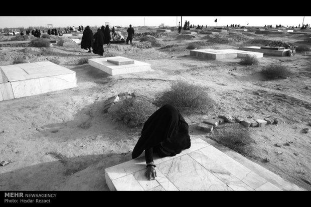 مقبرة شهراديمي في مدينة نيمروز التابعة لمحافظة سيستان وبلوشستان