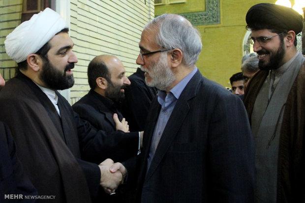ع پروفایل سالگرد پدر مراسم سالگرد درگذشت پدر حجت الاسلام شهاب مرادی   آفتاب