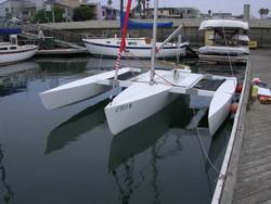 World's 2nd trimaran built in Qeshm Island