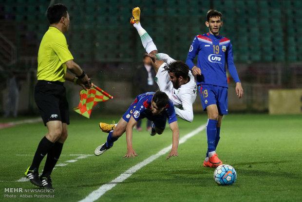 مباراة ذوب آهن اصفهان وبنيادكار الاوزبكستاني