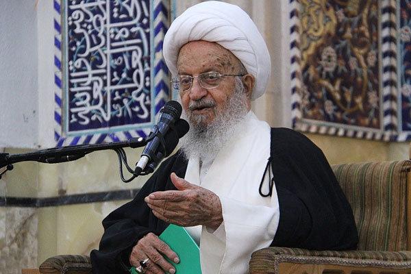 آية الله مكارم شيرازي يؤكد عدم امكانية الوثوق بالغربيين