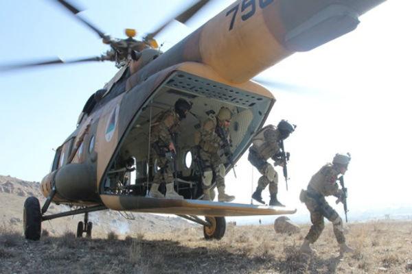 افغانستان میں امریکی حملوں میں 93 وہابی دہشت گرد ہلاک