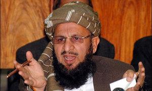 جمعیت علماء اسلام کے رہنما کی طالبان کی حمایت پر تاکید/طالبان کے بہیمانہ اقدام پر فخر