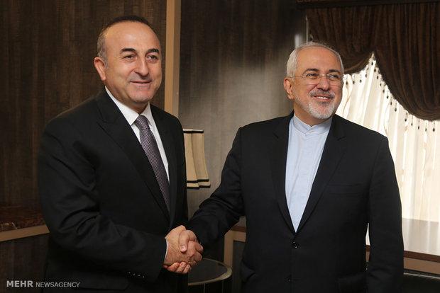 دیدار وزرای امورخارجه ایران و ترکیه