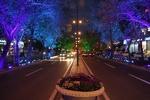 سیمای شبانه شهر اردبیل در حال ارتقا کیفی است