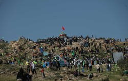 صعود بیش از ۲۰ هزار نفر به ارتفاعات «بازی دراز» در استان کرمانشاه