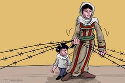 Filistinli Anne/ Karikatür