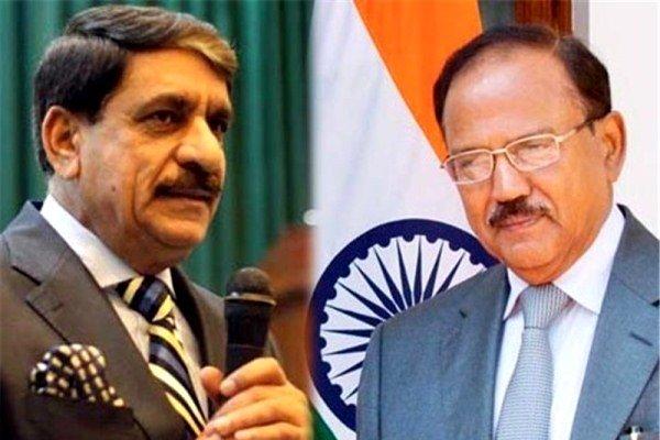 پاکستان اور ہندوستان کے قومی سلامتی کے مشیروں کی باہمی گفتگو