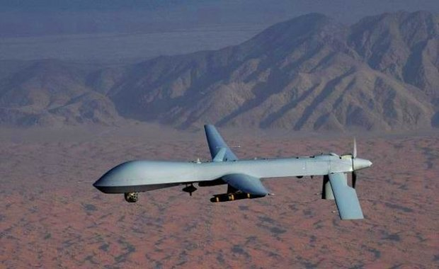 Air defense wards off US drone by warning