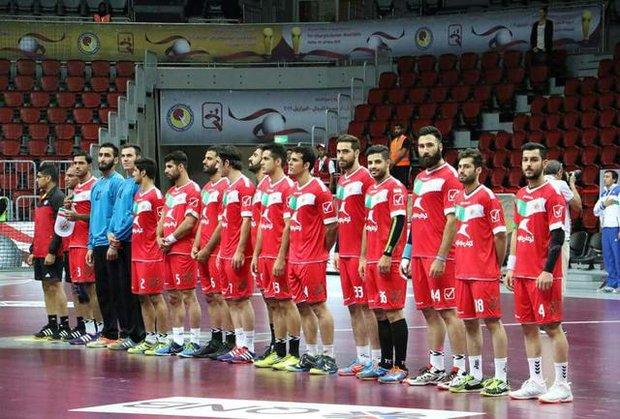 Handball team concedes defeat against Sweden