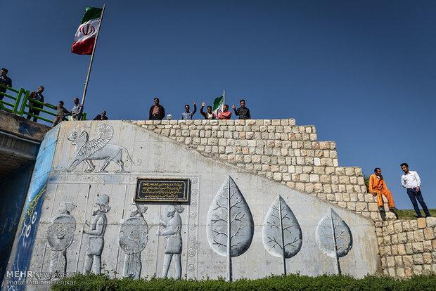 نخستین مسابقه ماراتن بینالمللی ایران