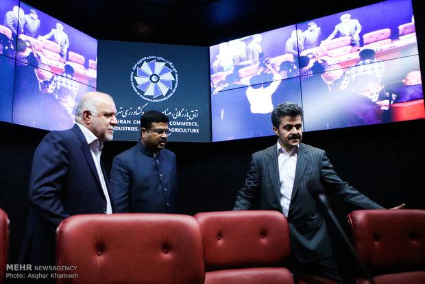 نشست خبری مشترک وزرای ایران وهند