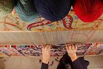 هنر اصیل ورامین آماده حضور در عرصه جهانی/فرشی که میتواند بدرخشد