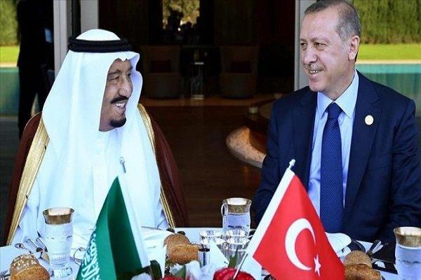 ملک سلمان و اردوغان
