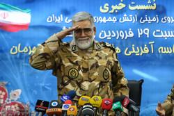 İran Ordusu Kara Kuvvetleri Komutanı'nın Basın Toplantısı / Foto