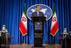 نشست خبری حسین جابر انصاری سخنگوی وزارت خارجه