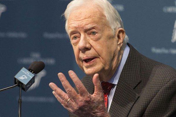 جيمي كارتر: جميع حروب أميركا غير ضرورية