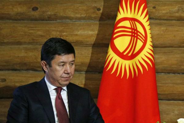 قرقیزستان کے وزیرِاعظم اپنے عہدے سےمستعفی