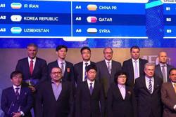 ايران تواجه كوريا الجنوبية واوزبكستان والصين  في تصفيات كأس العالم