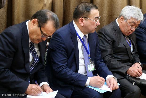 دیدار رئیس جمهور قزاقستان با رهبر معظم انقلاب