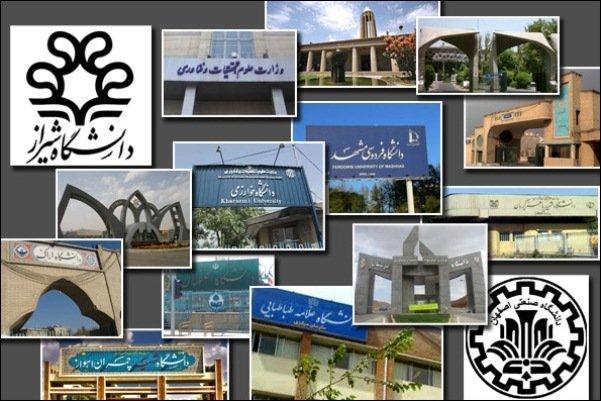 نتایج سطح بندی دانشگاههای دولتی اعلام شد