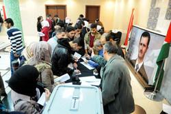 نسبة المشاركة في الانتخابات البرلمانية السورية بلغت 57 %