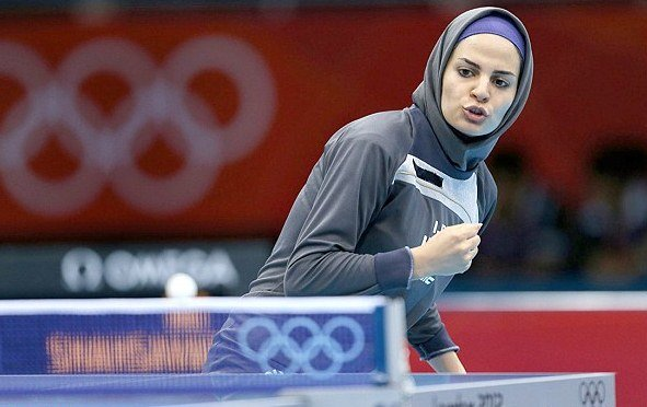 Iranian ping pong players nail 2 Olympic quotas