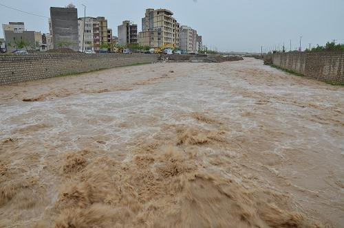خسارت یک میلیارد ریالی سیلاب در عنبرآباد/بازگشایی تمامی محورها