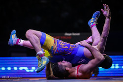 Iran bags 2 golds, 1 silver in Jr World Freestyle