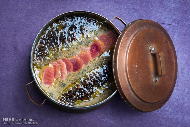 المهرجان التاسع للاطعمة الشعبية الايرانية