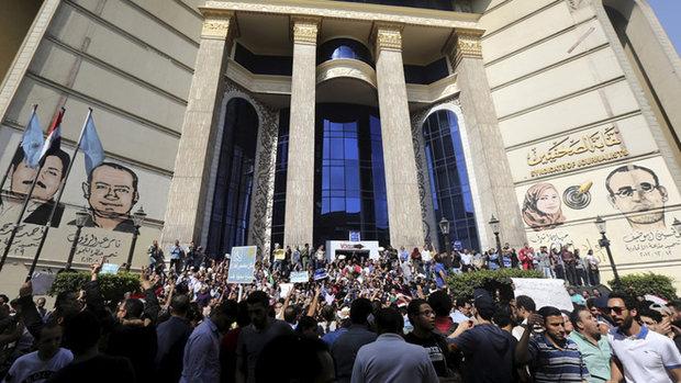 احتجاجات في القاهرة على تسليم جزيرتين للسعودية