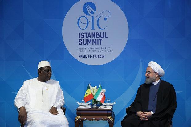Rouhani stresses Iran-Senegal security coop. in N Africa