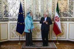 دیدار مسئول سیاست خارجی اتحادیه اروپا با وزیر امور خارجه