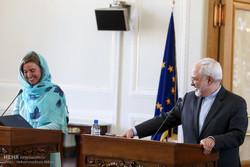 دیدار مسئول سیاست خارجی اتحادیه اروپا با وزیرامورخارجه