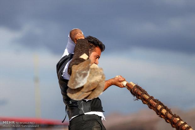 آئین سنتی بیل گردانی تیمور در محلات