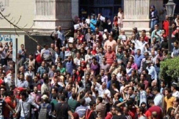 مشاهد من التظاهرات المناوئة للسعودية في القاهرة