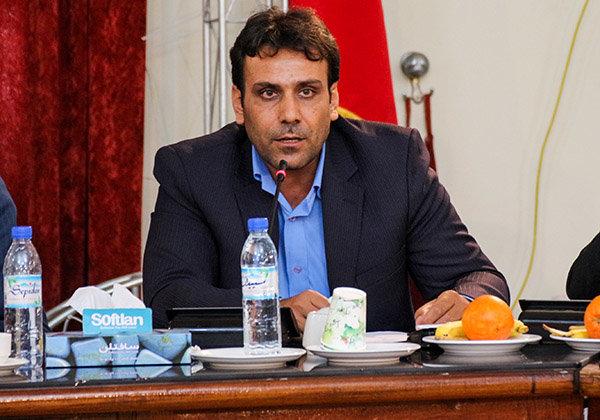 محمود رضایی بخشدار ویژه خارگ